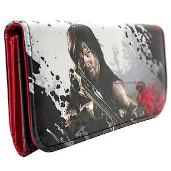AMC Walking Dead Daryl Dixon Card Tri-Fold Purse