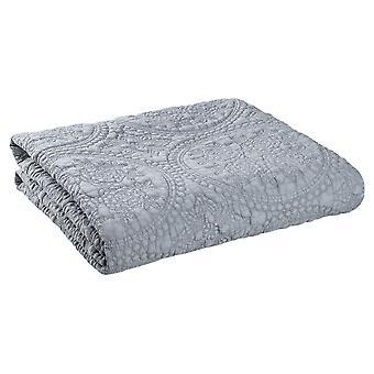 Clayre & amp; Eef geruite knuffel deken Couch deken bed cover Stonewashed 150x150 cm