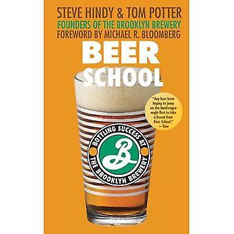 École de bière: Embouteillage de succès à la brasserie de Brooklyn