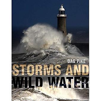 Tempestades e água selvagem