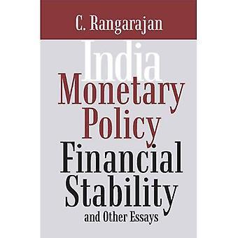 Intia: Rahapolitiikan, taloudellinen vakaus ja muita esseitä
