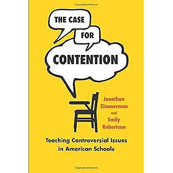 Väitteen kohdalla: opetus kiistakysymyksiin American koulut