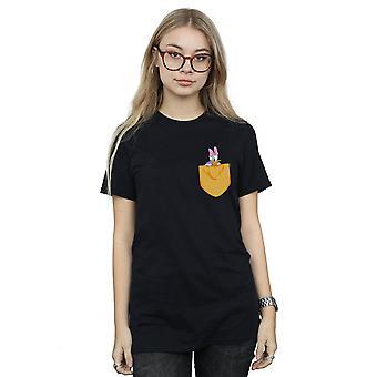 ديزي داك جيب فو صديقها ديزني للمرأة تناسب القميص