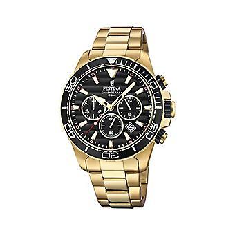 ステンレス スチール バンド F20364/3 フェスティナ クロノグラフ クォーツ メンズ腕時計