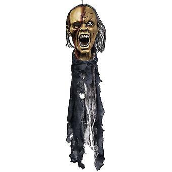 Opknoping hoofd met Open mond. Halloween hoofden.