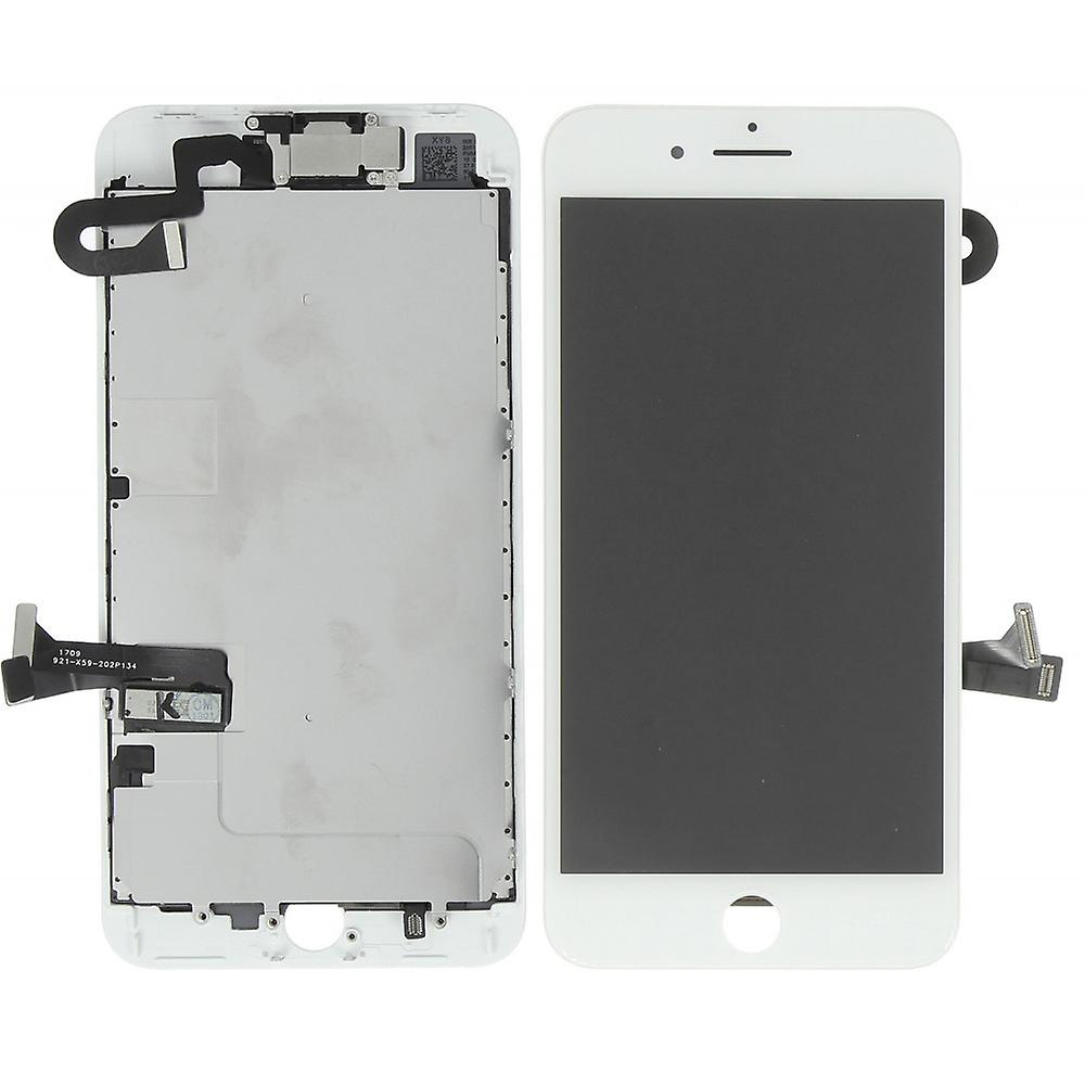 Stuff Certified® iPhone 8 Plus Pre-assembled Screen (Touchscreen + LCD + Parts) AAA + Quality - White + Tools