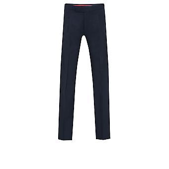 Dobell Mens Navy Herringbone 2 Piece Morning Suit Regular Fit Matching Trousers