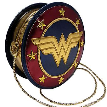Wonder Woman Logo Round Cross-Body Bag