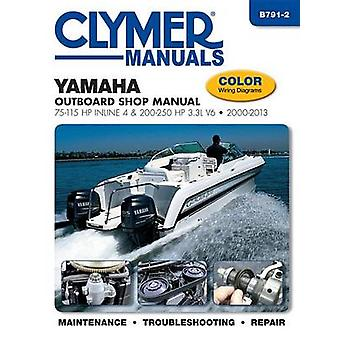 Yamaha 75-250 HP 4-Stroke Outboard Motor Repair Manual by Editors of