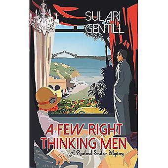 Några rätt tänkande män (Rowland Sinclair Mysteries)
