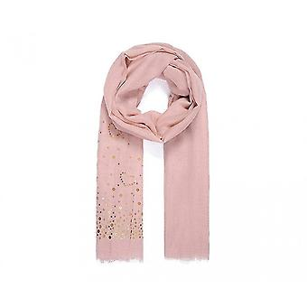 Intrigue Womens/Ladies Heart Sequin Scarf