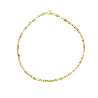 Eternity 9ct Gold Singapore Anklet