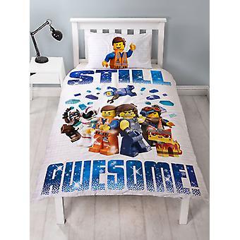 Lego Film 2 Aktion einzelne Bettbezug und Kissenbezug Set
