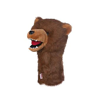 Daphnes Grizzly Bear Golf driver Headcover