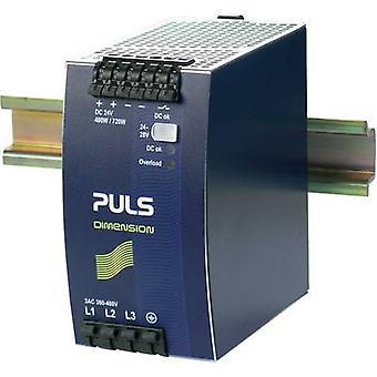 PULS DIMENSION QT20.241 Rail mounted PSU (DIN) 24 V DC 20 A 480 W 1 x