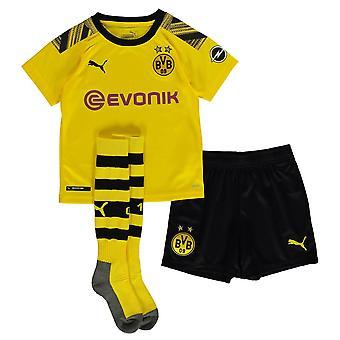 Puma Kinder Borussia Dortmund Home Mini Kit 2019 2020
