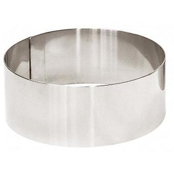 FMI Emplatadores Inox Ø 12 X 4 Cm circulares (cocina, Cookware, utensilios de cocina)
