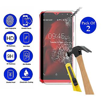 Pack of 2 Tempered Glass Screen Protection For XGODY Mate 20 Mini 5.5