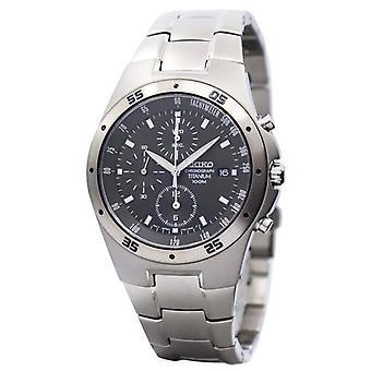 Seiko Titanium Chronograph Snd419 Snd419p1 Snd419p Men-apos;s Watch