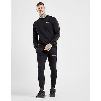 New McKenzie Men's Essential Cuffed Track Pants Black