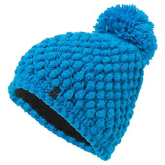 Spyder BERRY Women's Knit Bommel winter ski Hat Sky