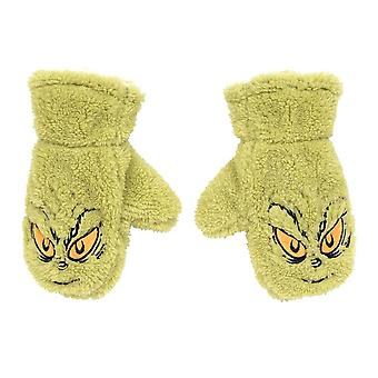 Children's Dr. Seuss The Grinch Fleece Mittens