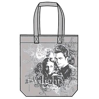 Twilight Tote Bag Edward & Bella (Vector Grey)