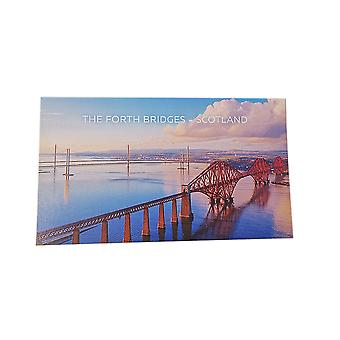The Forth Bridges Postcard Daytime