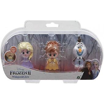 Frozen 2 Whisper and Glow Doll Triple Pack