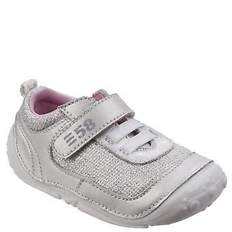 Hush valpar Childrens/flickor damps Touch infästning läderskor