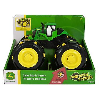 John Deere Spike Treads Tractor Farm Vehicle Toy