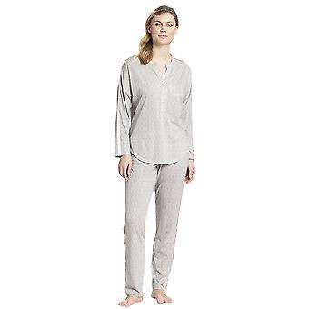 Rosch 1193701-16416 Women's Pure Off-White Oriental Flair Cotton Pyjama Pant