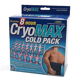 Cryo-max cold pack with flexible straps, reusable, large, 1 ea