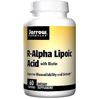 R-alpha lipoic acid med biotin (60 kapslar)-Jarrow formler
