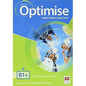Optimise B1 Digital Students Book Pack by Malcolm Mann