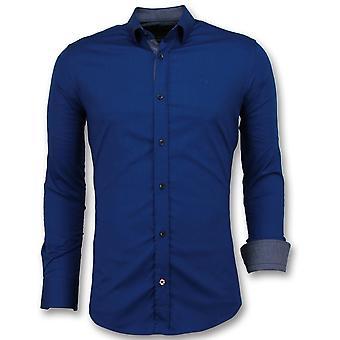 Tailored Shirts - - Blue