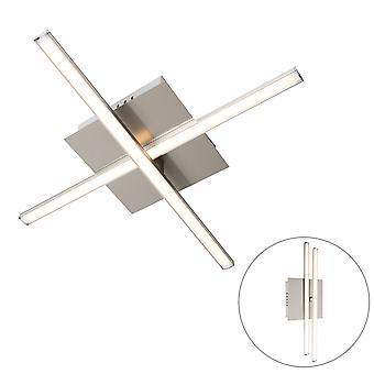 QA-QA moderno soffitto lampada in acciaio LED rotabile - Cruz