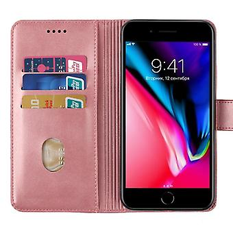 CaseGate phone case for Apple iPhone 7 / 7S / 8 case cover – lock, stand function and card compartment