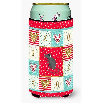 Satin Mouse Love Tall Boy Beverage Insulator Hugger