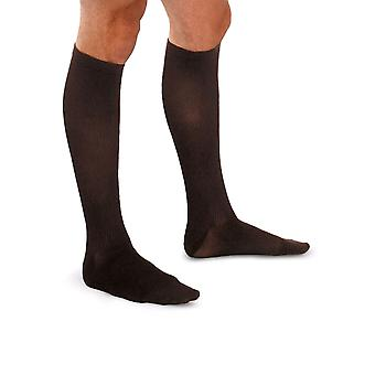 Therafirm Light Mens Support Socks [Style A1] Brown  L