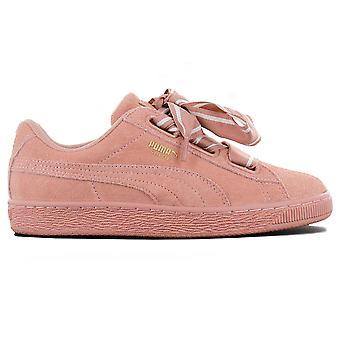 بوما سويد القلب الساتين الثاني Wns 364084-03 أحذية نسائية أحذية رياضية الوردي أحذية رياضية