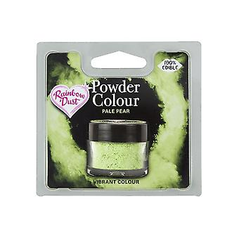 Arcobaleno Polvere Edibile Matt Polvere Polvere Colore 4g Pallido Pera