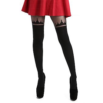 Pamela Mann Crown Over The Knee Tights - Hosiery Outlet