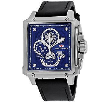 Seapro Men's Blue Dial Watch - SP0112