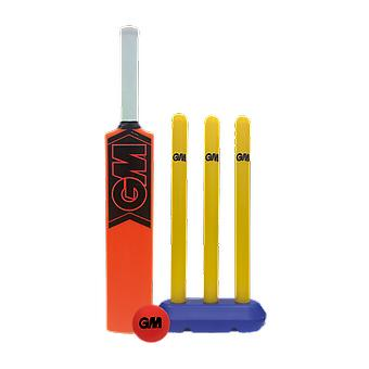 Gunn et et Moore Opener Molded Bat Stumps Rubber Ball Youth All Weather Cricket Set Moore Opener Molded Bat Stumps Rubber Ball Youth All Weather Cricket Set Moore Opener