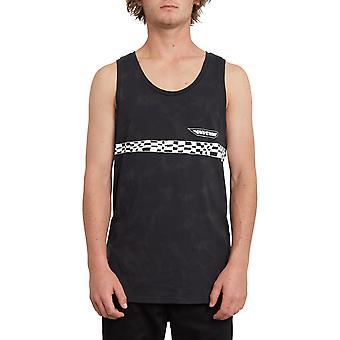 Volcom Rude ärmelloses T-Shirt in Schwarz
