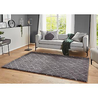 Design High Flor Rug Archer Grey