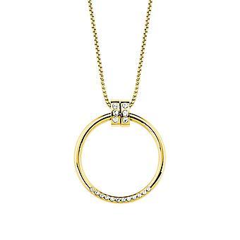 s.Oliver Jewel Damen Kette Halskette Edelstahl IP gold XXL 2027628