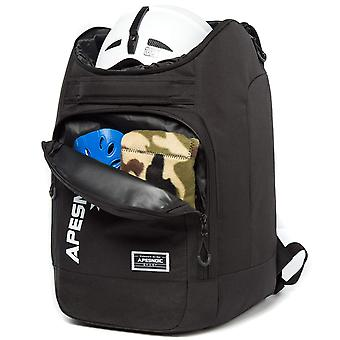 APESNOIC Ski Boot Bag Waterproof Ski Bags for Travel Stores, BLACK, Size No Size