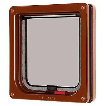 Pet Mate Gatera Finas Doors (13 mm) Brown (Cats , Kennels & Cat Flaps , Cat Flaps)